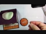 Необычная техника создания открытки. ВСС https://vk.com/scrapersStampin Up! Among the Braches Easel Card Tutorial