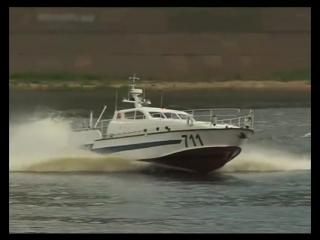 Водомётный морской противодиверсионный катер