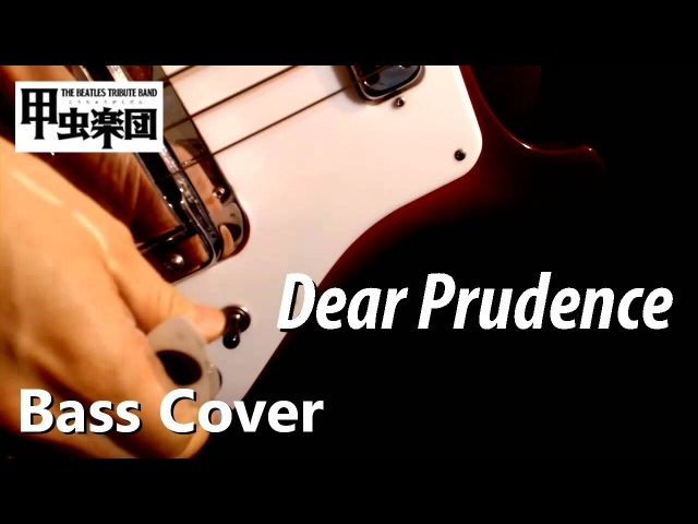 Dear Prudence (The Beatles - Bass Cover)