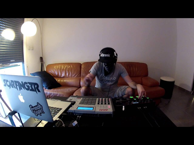 Ours Samplus - Blue Bird - Scarfinger - Live Re Edit MPC x LoopStation