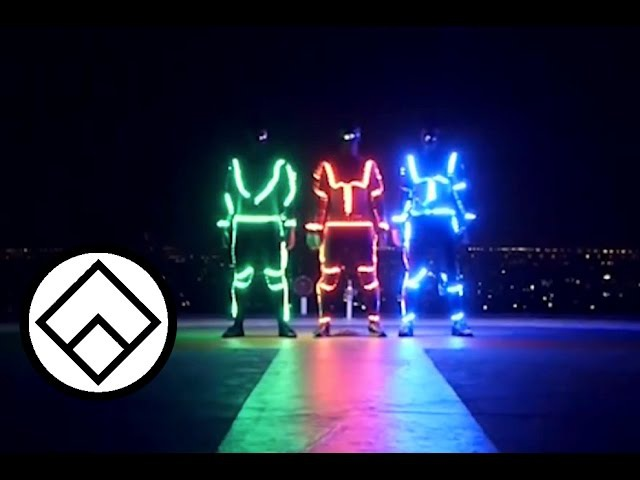 Light Emitting Dudes LED Freerunning Team Farang