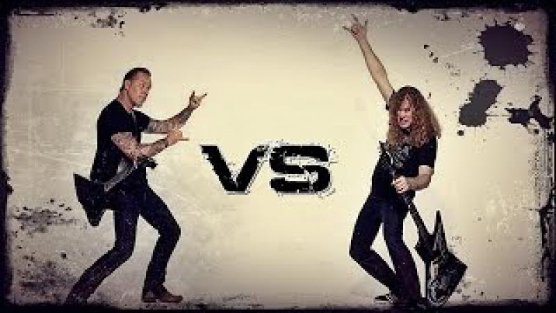 James Hetfield Vs Dave Mustaine