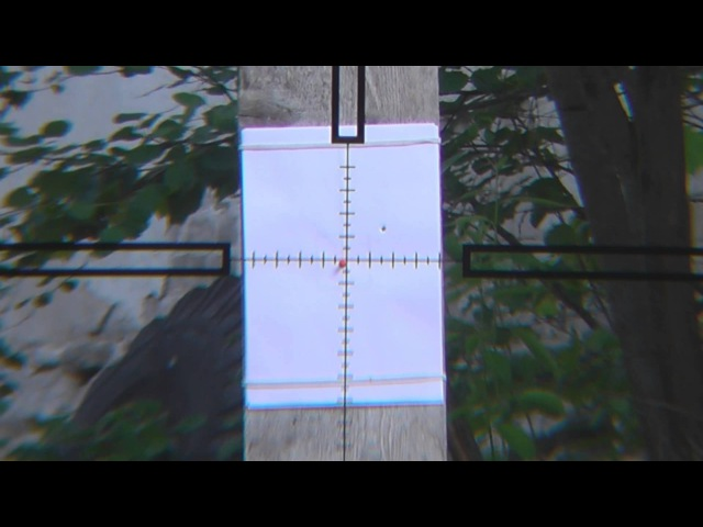 Как одним выстрелом пристрелять оружие с оптическим прицелом