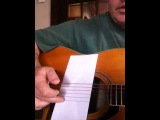Lesson 4 easy Travis picking John prine style D chord