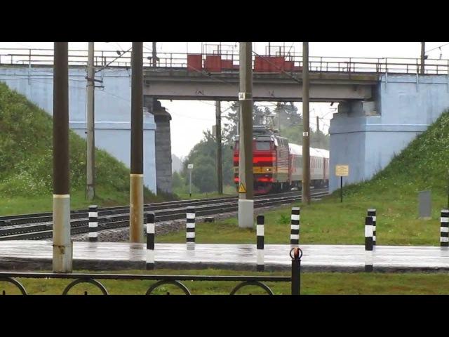 БЧ / РЖД ЧС4Т-372 с поездом №023Й Москва-Париж