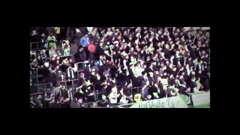 Kevin de Bruyne CONDUCTS victory chants for Wolfsburg fans