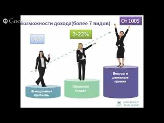 Успешный СТАРТ твоего Бизнеса с ORIFLAME (и-п Бизнес из Дома)