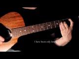Behind Blue Eyes, Limp Bizkit. (Fingerstyle Guitar Cover with LyricsChords).