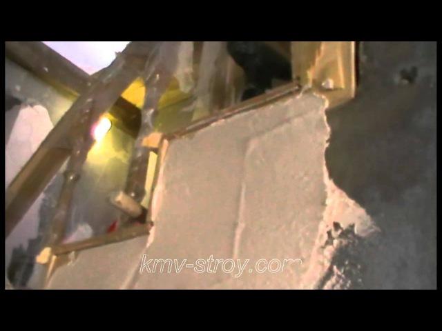 как шпатлевать и штукатурить саманные и старые стены - YouTube