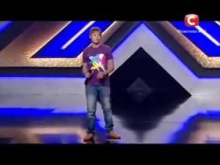 Х фактор 4 Даниил Рувинский - What Love Can Be 31 08 13 кастинг в Одессе Украина 2013 X-Factor