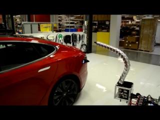 Зарядка-клизма для автомобилей Тесла