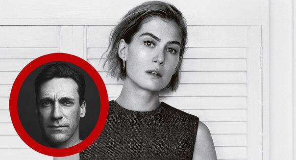 Розамунд Пайк снимется в политическом триллере с Джоном Хэммом.