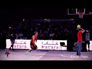 2014 FIBA 3x3 All Stars - Scorpion Dunk
