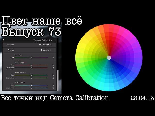 LR - Цвет наше всё. Выпуск 73. Разбор Camera Calibration