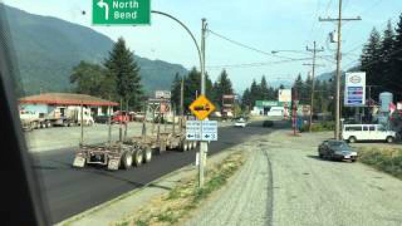 8 дальнобой Калифорния-Аляска