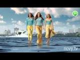 Реклама Мировые топ-модели прошлись по воде для Нового канала - Супермодель по-украински (2015)