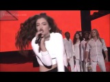 Lorde - Yellow Flicker Beat ( AMA's 2014)