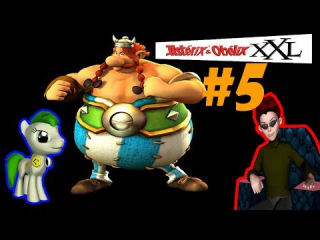 Совместный Let's Play Asterix & Obelix XXL #5 - Грецкий пукан