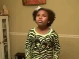 Nina Simone's Blackbird covered by 9 yr. old Ariana Neal