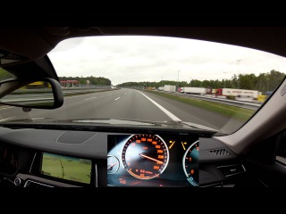 A fast drive on the Autobahn A1 with a BMW 730d, Part 1: From Bremen to Hamburg
