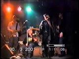'Ночные снайперы' - отрывок концерта в Мск (30.03.2001, 'Запасник')
