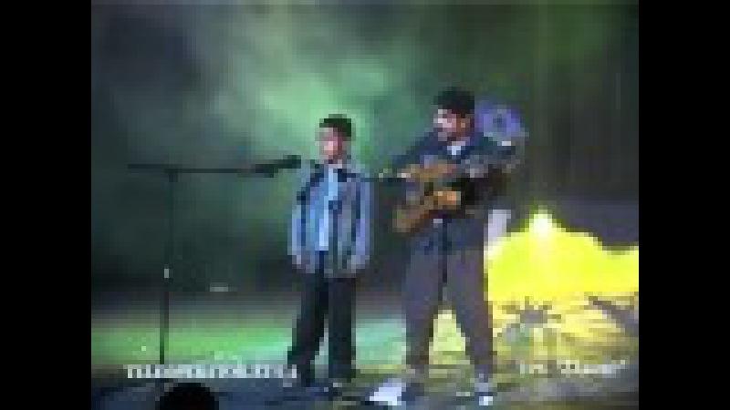 Цыганский мальчик перепел песню А Барыкина Я буду долго гнать велосипед
