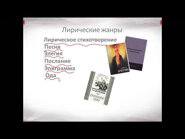03 Жанры литературы