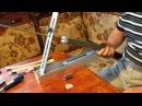 Самодельная ЗАТОЧНАЯ СИСТЕМА СТРОГОВА для ножей, ножниц и тп. фильм 1-й. Strogoff Sharpener System