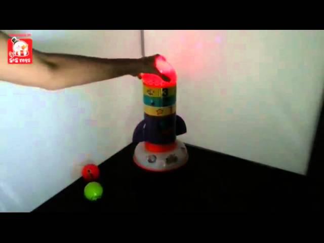 Многофункциональный проектор «Космическая ракета» арт. EH 80165 R