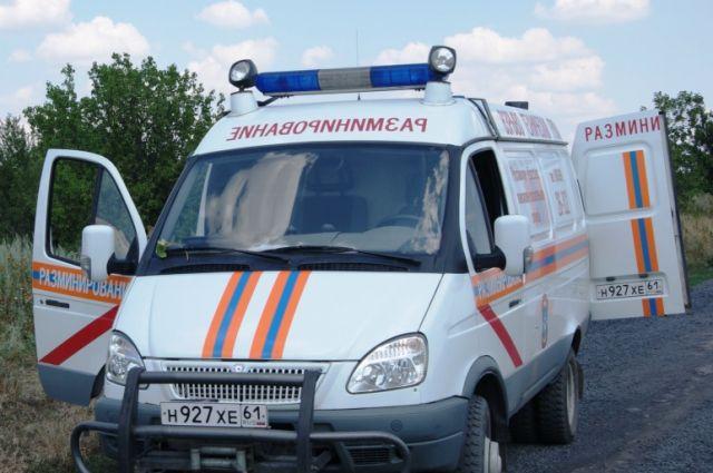 В Таганроге на территории завода «Тагмет» нашли мину со взрывным веществом