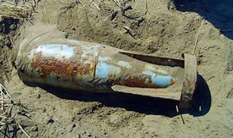 В Таганрогском заливе во время отлива нашли стокилограммовую авиабомбу