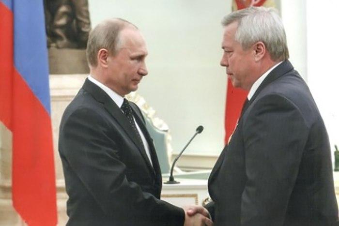 Путин отправил в отставку губернатора Ростовской области Василия Голубева