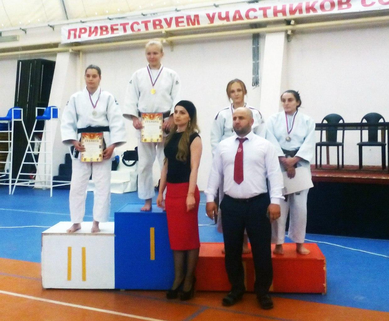 Таганроженка Светлана Кичигина вернулась с золотом с Чемпионата Вооруженных сил РФ по дзюдо