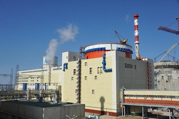 Ядерные риски 3-го энергоблока Ростовской АЭС застрахованы в СОГАЗе
