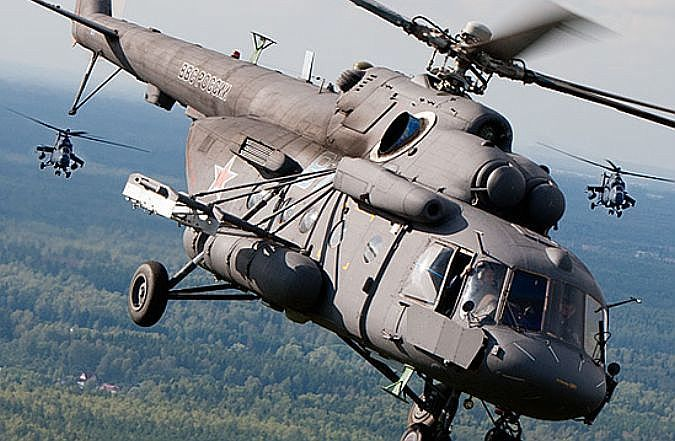 На две недели над Таганрогским заливом «зависнут» военные вертушки