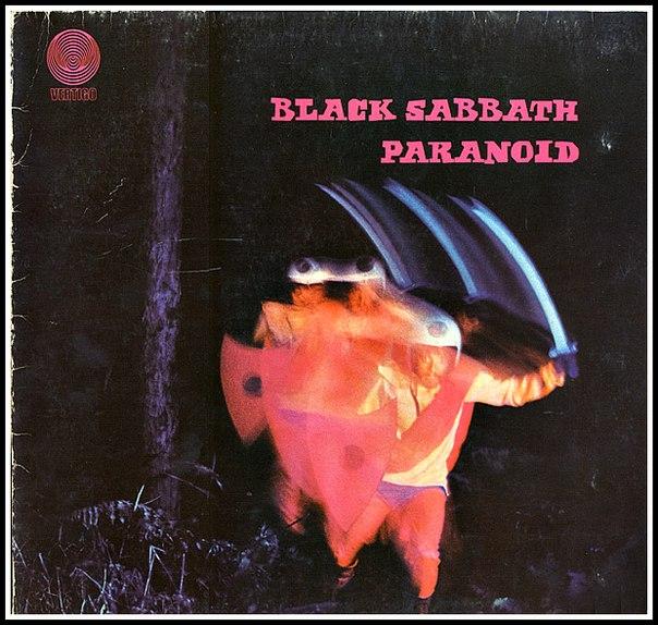 Главная страница. Музыка. Black Sabbath - Paranoid в магазине виниловых п