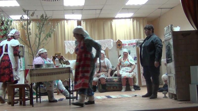 Фоат Садриев Безнең авылның кызлары 4 күренеш (дәвамы).