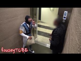 Розыгрыш в лифте! -Мортал комбат 2- - MORTAL KOMBAT ELEVATOR PRANK 2!_TubeID.Net