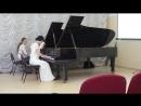 Антон Аренский Фантазия на темы Рябинина. переложение для двух роялей