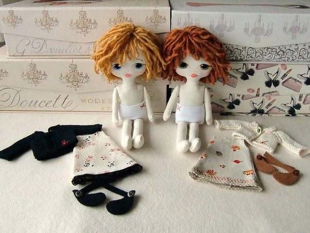 Выкройка куколки