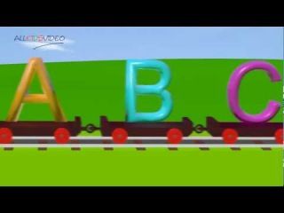 Alphabet Train (ABC Train) - Learning English Alphabet for Children