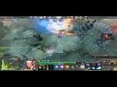 Dota 2 - Invoker just sun strike,refresher ORB D