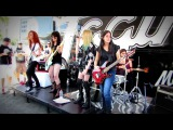 Backstage Queens - Sharp Dressed Man (ZZ Top Cover) Monsters of Rock 2013