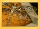 How to embroider goldwork/stumpwork insect wings