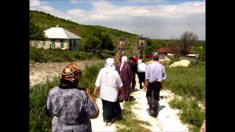 Крестный ход (12 июня 2015 года) к Святому источнику Параскевы Пятницы в станице Зо...