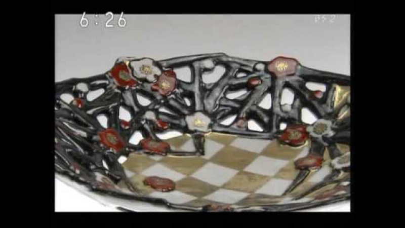 Japan Ceramic art 陶芸 Ueha Kasumi