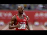 100m - Asafa Powell 9.81, Jimmy Vicaut 2nd 9.86 - equals European record