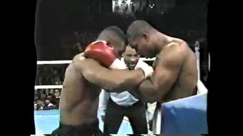 BOXING Mike Tyson VS Razor Ruddock 1 Highlights