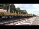 [Rechte Rheinstrecke]Bahnverkehr am 07.08.2014 in Königswinter mit 1142 DoTra