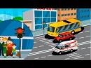 Развивающие мультики для детей про машинки - Светофор. Видео для детей новые серии